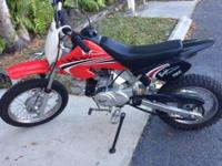 Baja Dirt Runner 70 dirt bike  70cc four-stroke