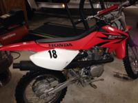 $1000.00 Red Honda is a 80cc No problems No emails
