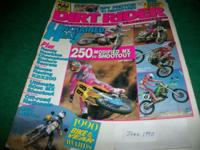 Dirt Rider,June 1990,Unchained heat! 250cc Modified MX