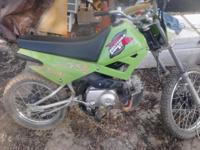 I have a 4 stroke 4 speed dirtbike runs and rides great