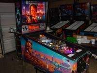 This is a nice Dirty Harry pinball machine. It released
