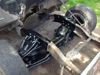 I provide totally reconstructed front suspensions with