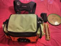 Selling never used bag and discs. Look at pics. I have