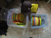 new and used discs. all the used ones are only slightly