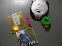 Discman and Pier 1 Sports Watch and lighted Chick. Call