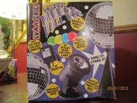 DISCO MIRROR BALL KIT with PIN SPOT and 4 COLOR FILTERS