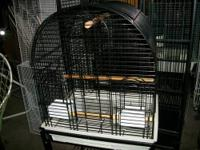 "Hagen Majestic ""Motel"" Cockatiel Cage - White Brand New"