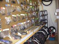 Discount bicycle parts for department store bicycles.