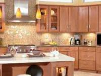 Solid wood cabinet doors built from Alder, Birch,
