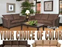 UNBELIEVABLE STORE-WIDE SOFA & LOVE SEAT SALE !!