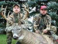 Big Muley and Whitetail Bucks are Common Place during