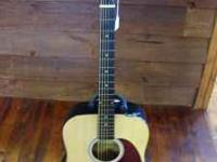 Discovery Acoustic Guitar by Tanglewood, $100 cash, in