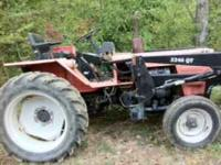 3011 Belarus tractor will 500 hrs, runs great, needs