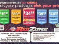 Dish Network Monthly Promotions  Receive the following