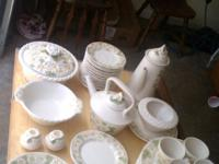 I have a ceramic dish set for sale. I dont know a lott