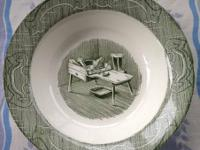 Highly collectible set of dishes made by The Old