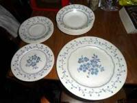 For sale is a nice set of dishes. I really like them,