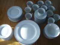 Fine China by Simplicity. 72 place setting minus one