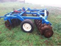 Large disk harrow I payed 1600 last year needs new