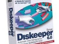 Diskeeper 6.0 Server on CD - Full Version ~ Nearly New