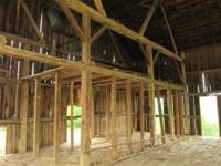Dismantled Barn Frame for reuse This Garber Barn2 is in