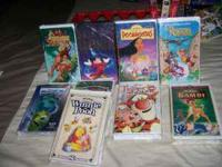 Disney VHS available: 13 total Around the World In 80