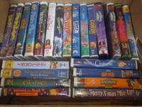 I have a lot of classic disney movies that are in great