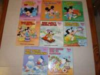 EIGHT DISNEY BABIES PRE-SCHOOL BOARD BOOKS......YEARS