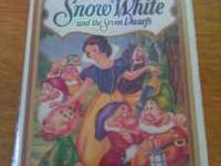 Snow White and the Seven Dwarfs VHS from 1993 Sealed