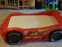 Disney Cars bed in excellent condition! Fits a crib