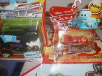 Disney Cars ,Mega size Elvis RV Todd, Ramone & Trailer