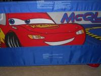 Disney Cars Single Bed rail. We used this bed rail to