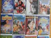 $10.00 for 14 movies! These are all VHS videos: The