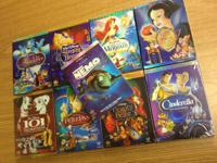 DISNEY DVD'S BRAND NEW SEALED $10 A PIECE - BUY 5 GET 1