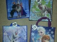 Frozen Disney Tote Bags - new with tagBag dimensions