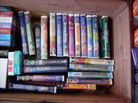 Go a bunch of General Movies and a bunch of Disney Vhs