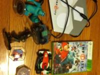 Disney Infiniti for Xbox 360. Opened from the box,