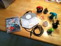 Selling Disney Infinty PS3 set. Includes game pad,