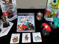 Disney Infinity game for the PS3.  Comes with Infinity