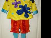 Disney JoJo clown costume size xs (3-5years) in good