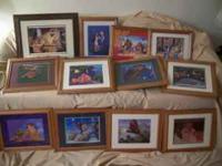 Disney Exclusive Commemorative Lithographs