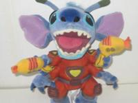 "Disney Lilo & Stitch 9"" Double Laser Stitch Alien Plush"
