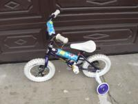 "This is a Disney Little Mermaid Girls Bike 12"" Bicycle"