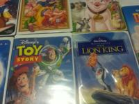 VCR DISNEY MOVIES USED BUT IN GREAT CONDITONS LIKE NEW