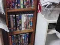 We have over 30 Disney titles on VHS! Most in original