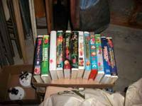 I have 26 VHS Movies in case Flubber Jack The Land