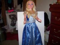 Disney My Size Princess Cinderella Doll Tall 3 Feet -