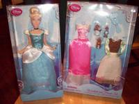 Disney Cinderella Doll w/ Wardrobe & Friends Set This