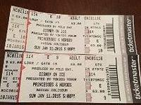 Two tickets for Disney on Ice Princesses and Heroes for