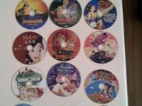 Selling a ton of Disney and Pixar DVD's. Got them at a